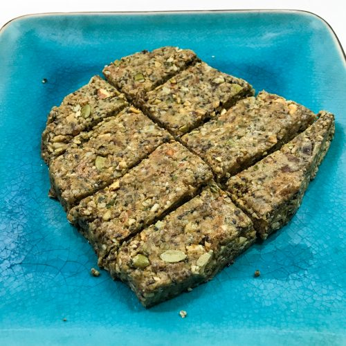grain free no bake granola bars